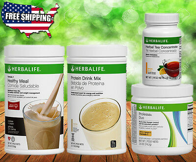 Herbalife Formula 1 Shake Mix  Tea  Protein Drink  Prolessa Free Shipping