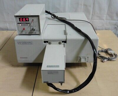 G174770 Shimadzu Uv-2501 Pc Spectrophotometer W Cps-240a Cps Controller