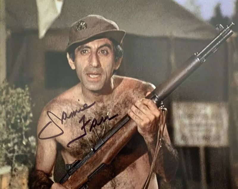JAMIE FARR HAND SIGNED 8x10 PHOTO M.A.S.H SHOW RARE AUTHENTIC AUTOGRAPHED