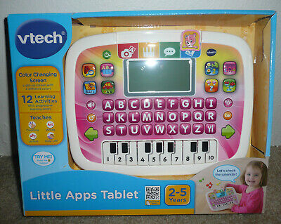 VTech Little Apps Tablet, Pink Standard Packaging Ages 2-5 Years Learning  for sale  Spokane