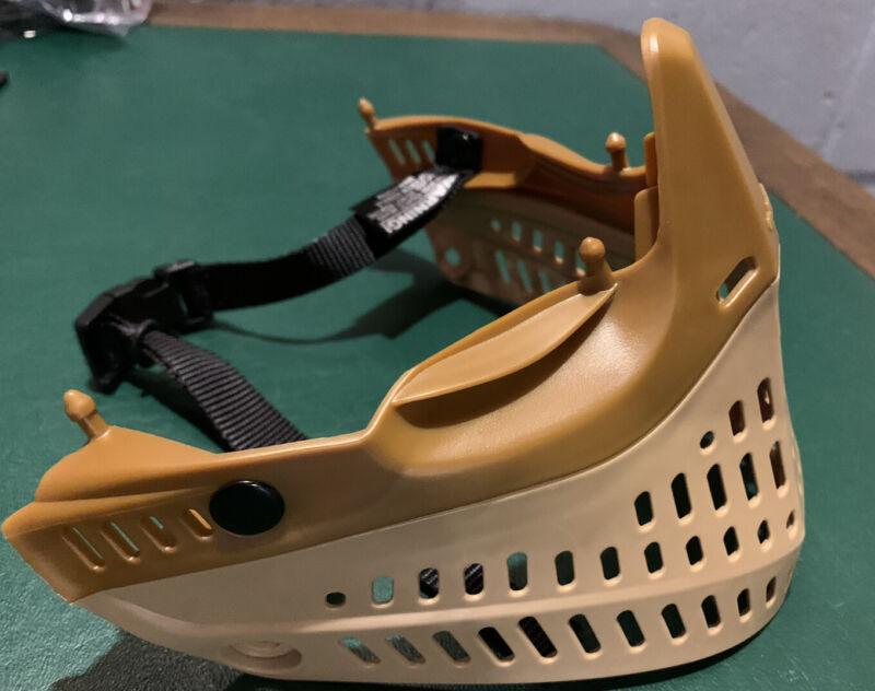 NEW JT Proflex Brown Tan Bottom Paintball Mask Goggle Flexible Camo