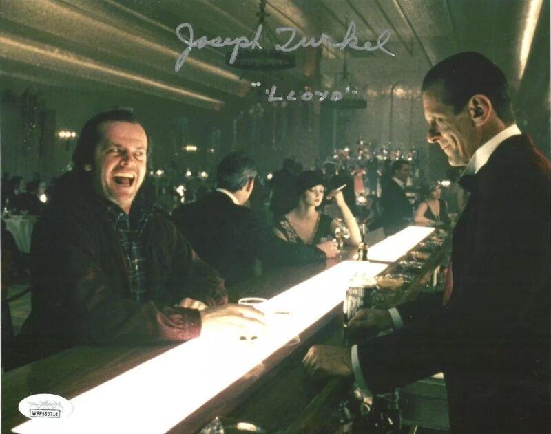 JOSEPH JOE TURKEL signed 8x10 Photo THE SHINING Lloyd the Bartender JSA