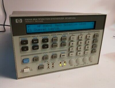 Hp Agilent 8904a Multifunction Generator Opt 001 002 004