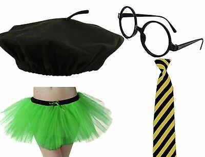 Ladies Penny Crayon School Girl Nerd Costume Set Hen Night Cosplay Accessories - Penny Crayon Costume