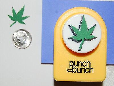 Maple Leaf Medium Punch - Medium JAPANESE MAPLE LEAF Paper Punch Scrapbook-Cardmaking-Quilling NEW