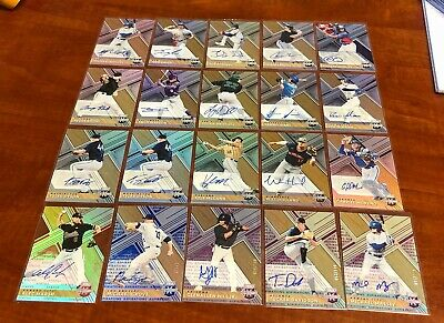 (113) TOPPS PANINI BASEBALL MLB ROOKIE RC VETERAN AUTOGRAPH LOT... ALL AUTOS