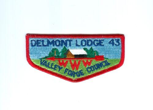 OA  Lodge 43 Delmont flap pre fdl