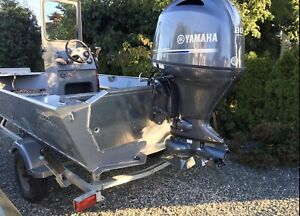 RiverHawk 16' New Yamaha 115/80 Jet Boat