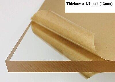 12 12mm Thickness Super Clear Acrylic Sheet Plexiglass 24x12 High-quality