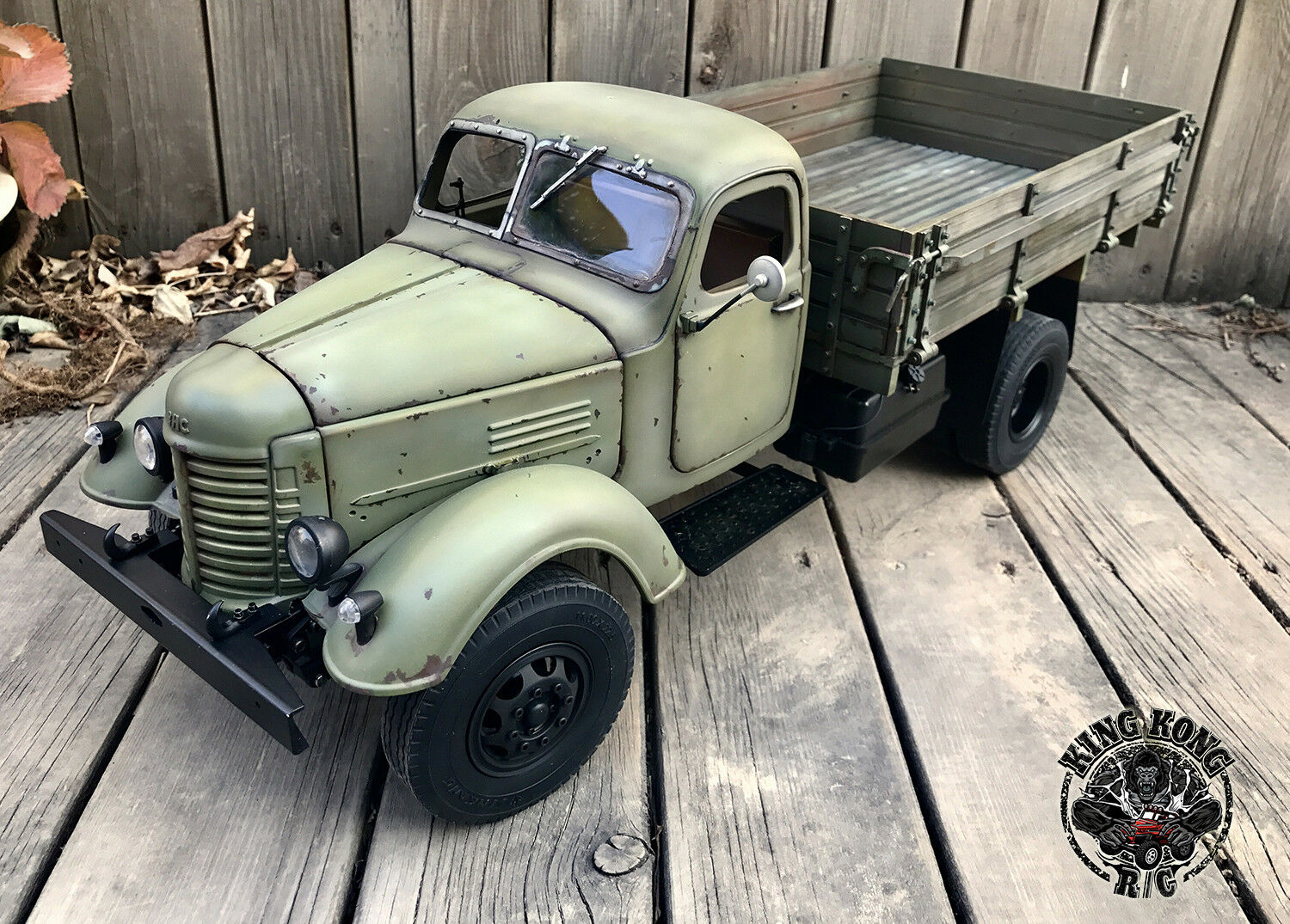 Kingkong Rc 1 12 Scale Soviet Zis 150 Ca10 4x2 Tru In Toys 10 Truck Bekas With Metal