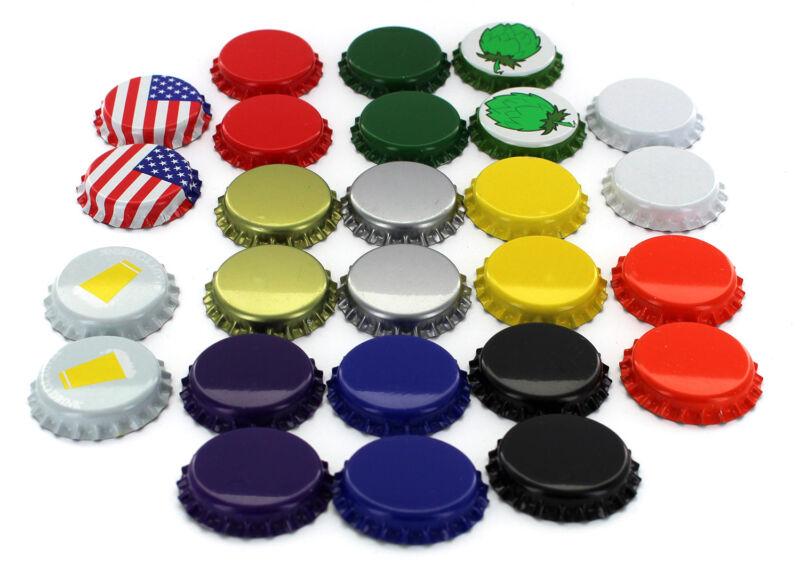 Beer Bottle Crown Caps - Oxygen Absorbing for Homebrew (Sample Pack of 26 Caps)