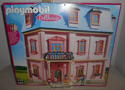 NEW PLAYMOBIL 5303 DELUXE DOLLHOUSE PLAYSET