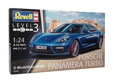 Porsche Panamera Turbo Maßstab 1:24 Revell Bausatz 07034 NEU & OVP