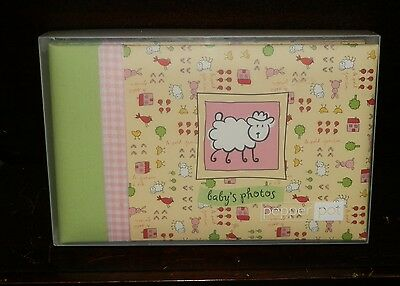 LITTLE LAMB Baby Photo Album PEPPER POT  Baby Lamb Photo Frame