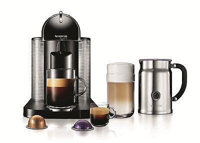 Nespresso VertuoLine Coffee and Espresso Maker with Aeroccin