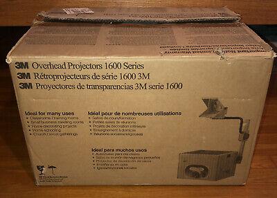 3m 1608 Overhead Projector 2000 Ansi Lumens - Brand New Open Box 1600 Series