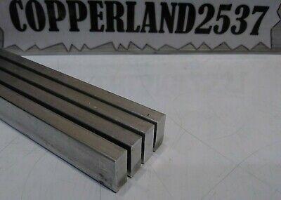 4 Pc 14 X 58 X 12 Long New 6061 T6 Solid Aluminum Plate Flat Stock Bar Block