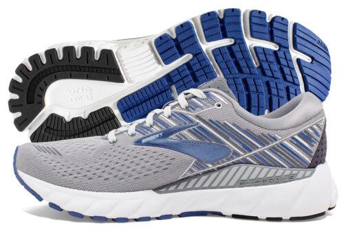 Brooks Adrenaline GTS 19 Mens Shoe Grey/Blue/Ebony multiple sizes New In Box