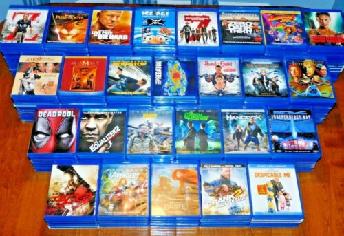 Blu-Ray Lot - Your Choice $4.00 each (Free Shipping After 1st Item)