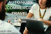 CHEAPEST INSURANCE RATES FOR GIGH RISK DRIVERS/HOME INSURANCE