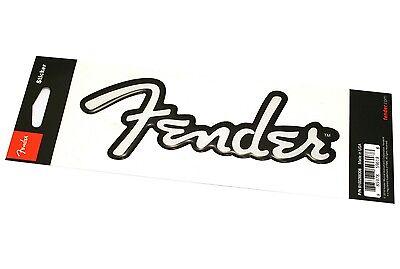 910-0288-306 Fender™ Guitar Bass & Amp Logo 3D Sticker