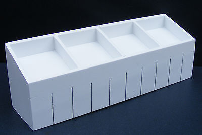 1:12th White Shop Display Counter Dolls House Market Furniture Accessory 254w