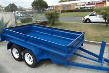 AUSSIE MDE HEAVY DUTY10X5 TANDEM WITH NEW LIGHT TRUCK TYRES & RIM Gold Coast Region Preview