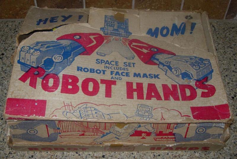 KILGORE  ROBOT HANDS  SPACE SET  C. 1950