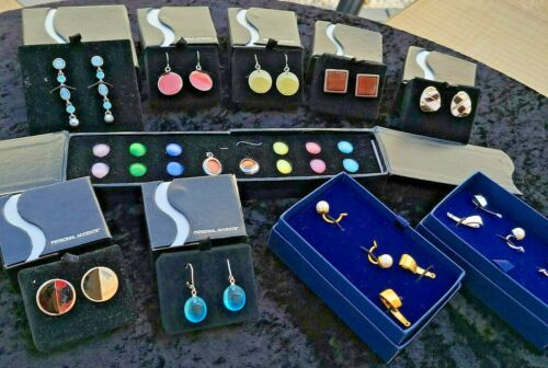 Lot of 10 Earrings Jewelry Lot Earrings Pierced Brand New Amway Personal Accents