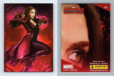 Scarlet Witch Captain America Civil War #92 Marvel 2017 Panini Trading Card