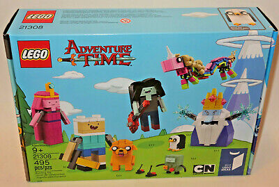 NEW LEGO Ideas Adventure Time (21308) Cartoon Network SEALED BOX FREE SHIPPING
