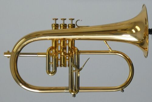 New Adams Sonic Flugelhorn in Gold Lacquer!