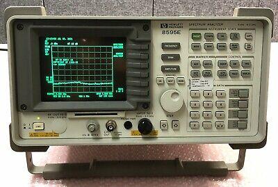 Hewlett Packard 8595e Spectrum Analyzer 9khz-6.5ghz