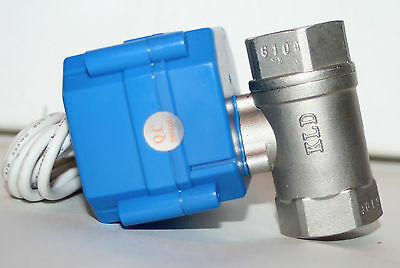 1 Npt 5vdc Motorized Ball Valve Kdl B2