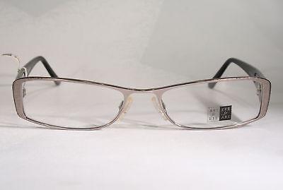 Japanese ART FOR EYE Intriguing Stylized Chrome Finish Women's Eyeglasses Frames