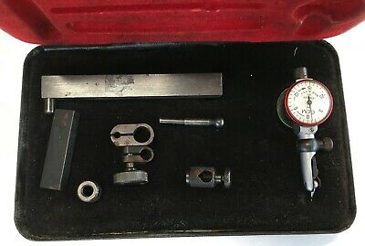 Gem Double Dial Test Indicator Set .030 Range .001 Graduation W Accessories