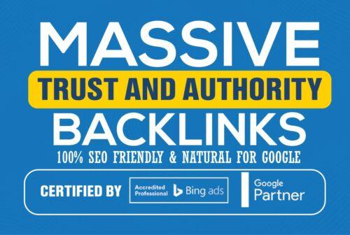 20 Authority Backlinks (DA 60+) Catapult your Google SEO