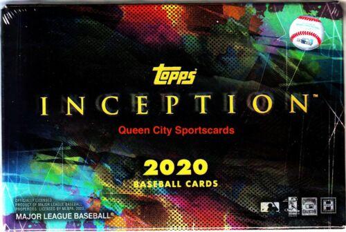 2020 Topps Inception Baseball Factory Sealed Hobby Box