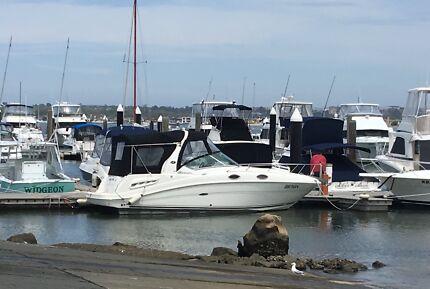 Bargain. Cruiser 27 ft Searay sundancer. Shares. $6.750 for 1/10