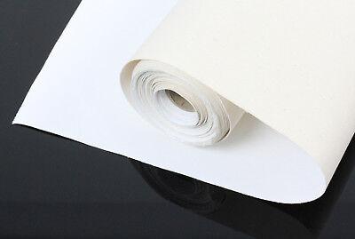 LEINWAND auf ROLLE 10m x 100cm breit 100% BW, grundiert, 380gr/m² Leinwandrolle