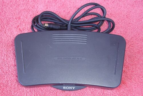 Sony Foot Pedal FS-80 for Microcassette Dictation Recorder Transcriber M-2000