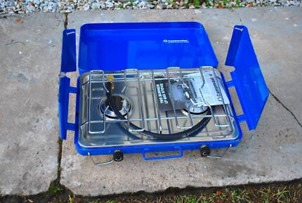 Camping Stove - 2 Burner - Campmaster - Never used Brassall Ipswich City Preview