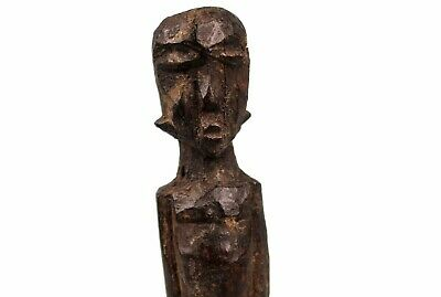 Art African - Antique Fetish Fetish Lobi MIniature - Base Custom Made - 15 Cm