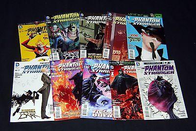 Phantom Stranger #0-9 Complete Set DC 2013 VF/NM All 1st Prints New 52