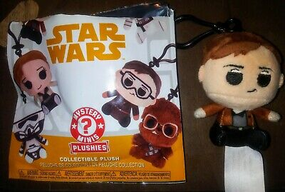 Funko Pop! Star Wars Solo Mystery Mini Collectible HAN SOLO Plush Keychain