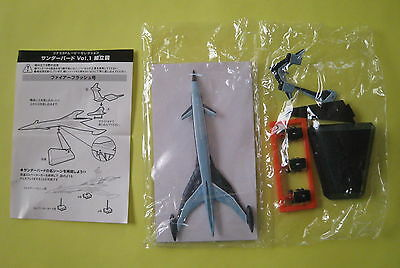 Konami Thunderbirds VOL.1  FIREFLASH  thunderbird  Gerry Anderson Candy Toy