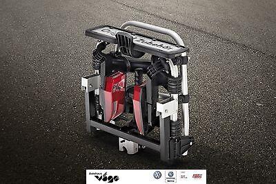 Original VW Fahrradträger f. die Anhängevorrichtung 2 Fahrräder, klappbar,