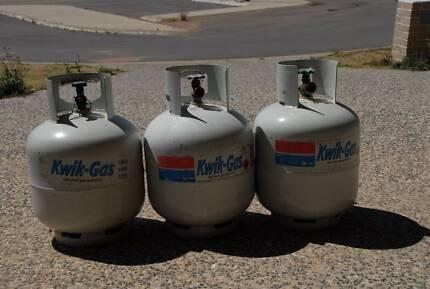 8.5 kg lpg bottles EMPTY