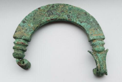 IRON AGE BRONZE FIBULA 8-7 BC