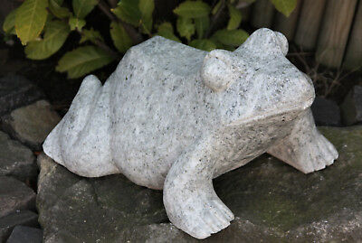Gargoyle Toad Frog from granite FROGS ANIMAL ANIMALS Garden Decoration ge-982283